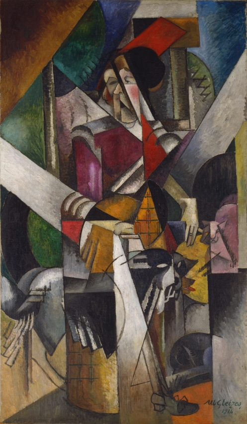 Albert Gleizes – Woman with animals (Madame Raymond Duchamp-Villon)