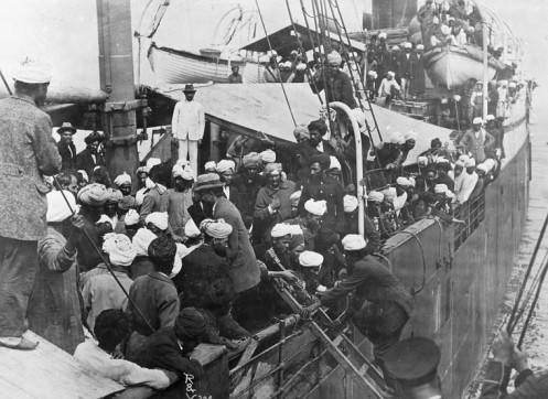 April 4 - The Komagata Maru sails from India to Canada. Due to Canadian regulations designed to exclude Asian immigrants, the boat is forced to return to Calcutta with all its passengers
