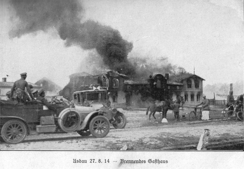 August 17 – The Battle of Tannenberg begins between German and Russian forces.