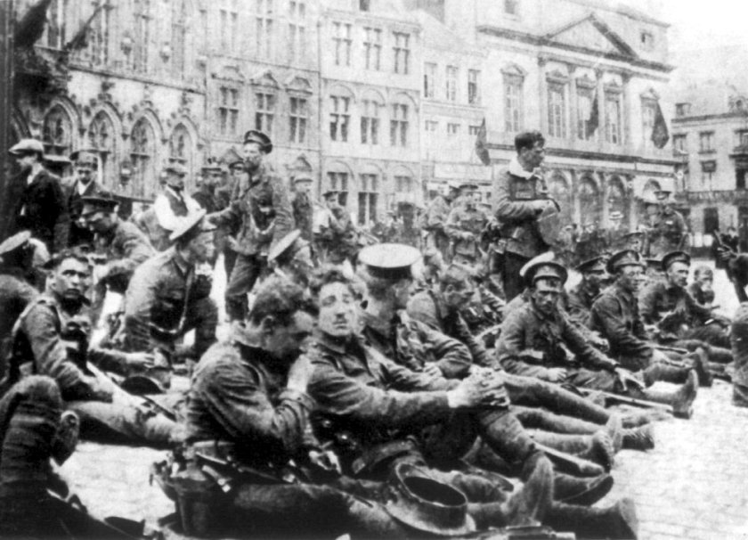 August 23 – In its first major action at the Battle of Mons, the British Expeditionary Force holds the German forces, but then begins a month-long fighting Great Retreat to the Marne.