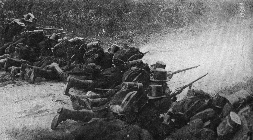 August 5 – The German Army overruns and defeats the Belgians at Liège with the first operational use of Big Bertha (a howitzer).