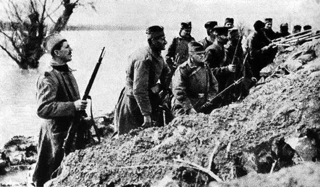 December 2 – Austro-Hungarian forces occupy the Serbian capital of Belgrade.