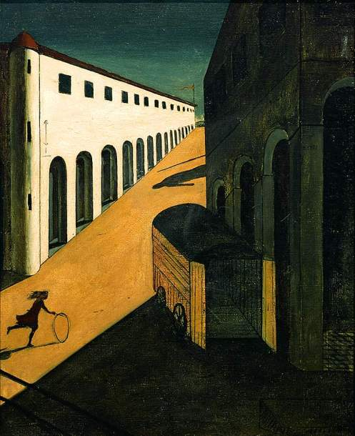 Giorgio de Chirico - The Mystery and Melancholy of a Street