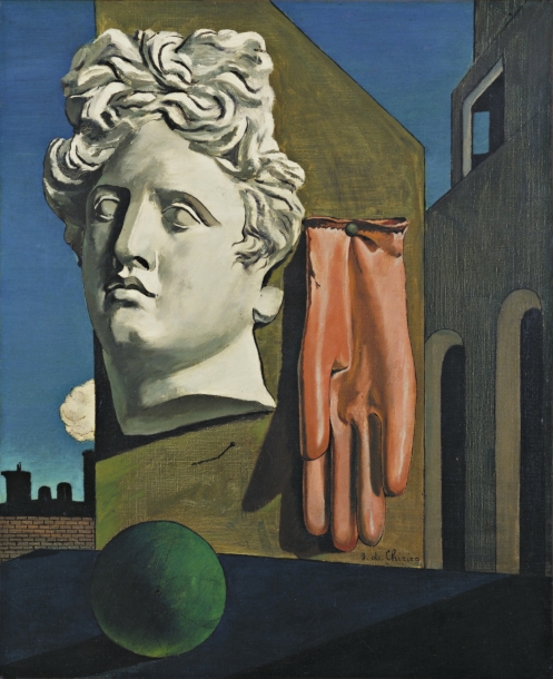 Giorgio de Chirico - The Song of Love