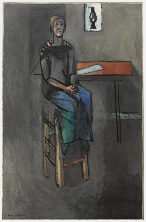 Henri Matisse – Woman on a High Stool.jpg