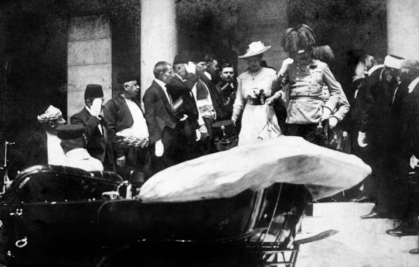 June 28 – Serbian nationalist Gavrilo Princip assassinates Archduke Franz Ferdinand of Austria and his wife, Duchess Sophie, in Sarajevo.