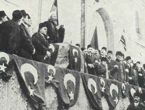 November 5 - After the shelling of Russian Black Sea ports, Britain and France declare war on The Ottoman Empire