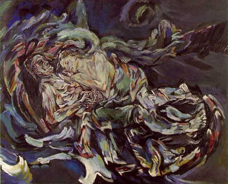 Oskar Kokoschka – The Bride of the Wind