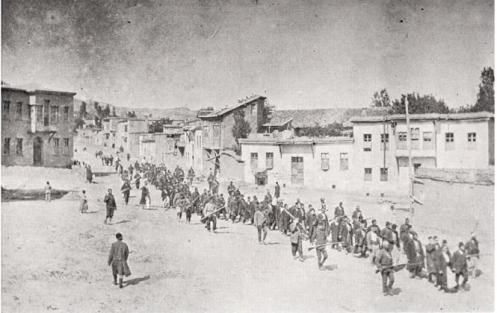 April 24 – The Armenian Genocide begins, with the deportation of Armenian notables from Istanbul.