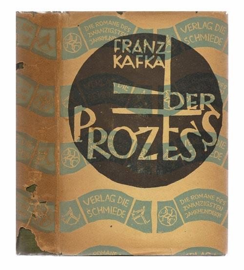 kafka the trial first edition dustjacket