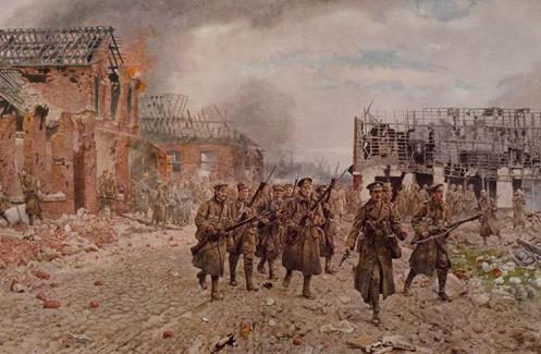 March 10 - In the first deliberately planned British offensive of the war, British Indian troops overrun German positions at Neuve Chapelle in France, but are unable to sustain the advance.