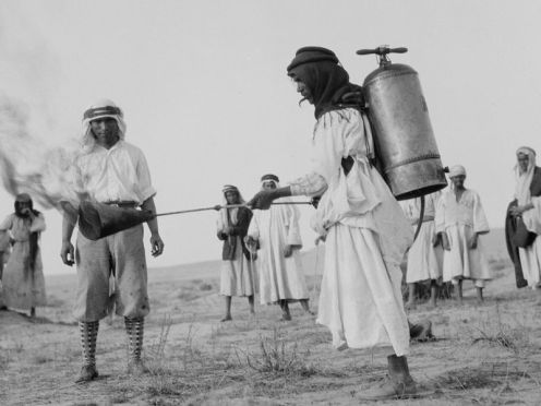 March – The 1915 Palestine locust infestation breaks out in Palestine; it continues until October.
