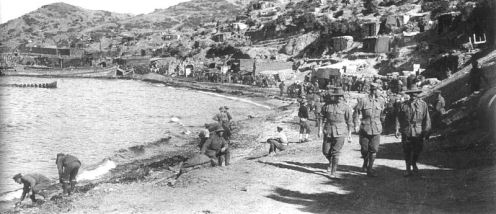 May 5 – Forces of the Ottoman Empire begin shelling ANZAC Cove from a new position behind their lines.