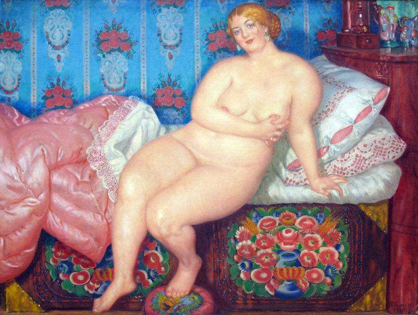 Boris Kustodiev - The Beauty
