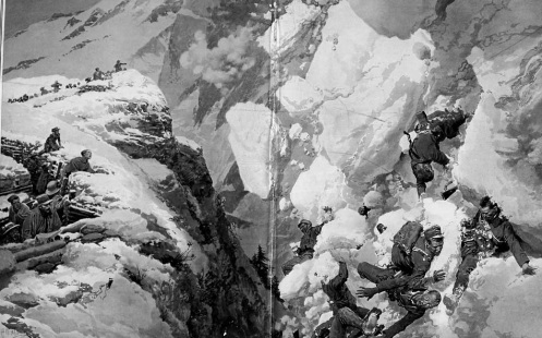 December 12 – 'White Friday' in the Dolomites - 100 avalanches bury 18,000 Austrian and Italian soldiers.