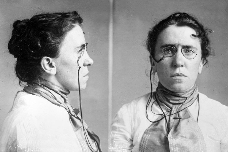 February 11 - Emma Goldman is arrested for lecturing on birth control in the United States.