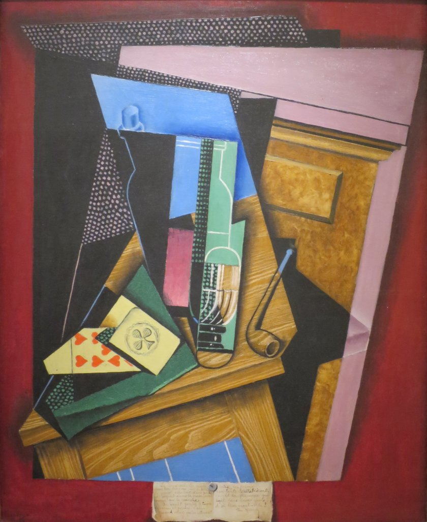 Juan Gris - Still Life with a Poem