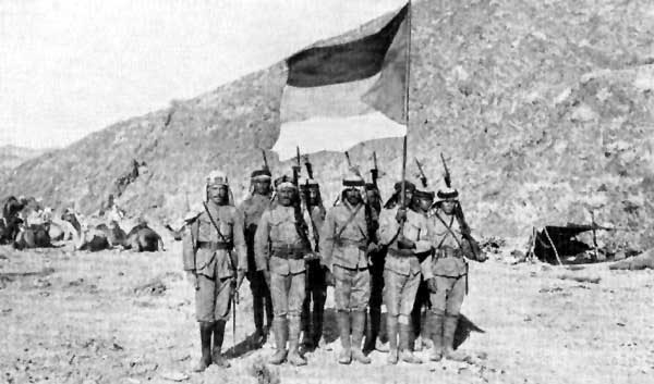 June 10 - The Arab Revolt against the Ottoman Empire is formally declared by Hussein bin Ali, Sharif of Mecca.