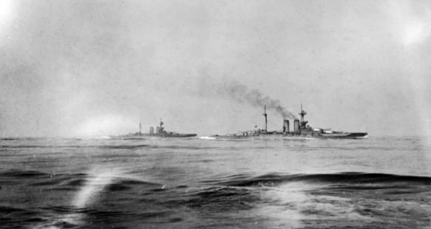 May 31 – The Battle of Jutland, between the British Royal Navy and the Imperial German Navy, the war's only large-scale clash of battleships, begins - the result is inconclusive.
