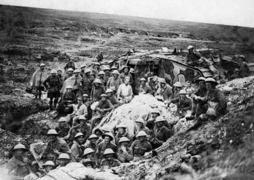 September 15 – Battle of Flers–Courcelette - significant for the first use of the tank in warfare and for the debut of the Canadian and New Zealand Divisions in The Somme.