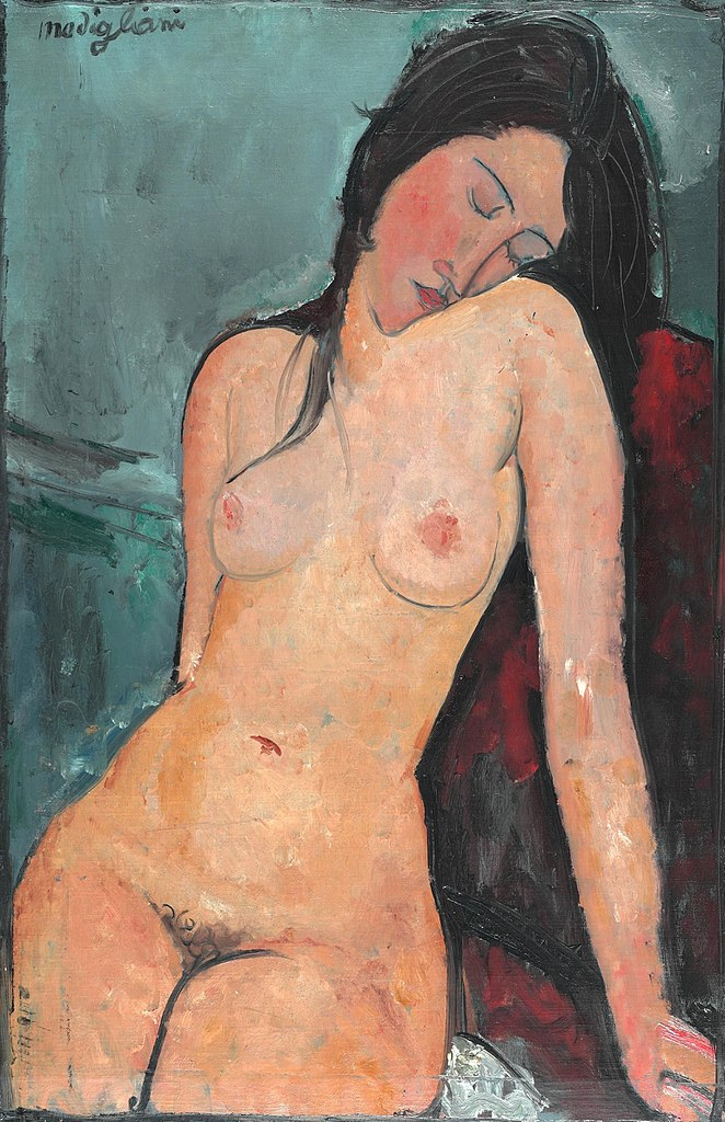 Amedeo Modigliani - Seated Nude