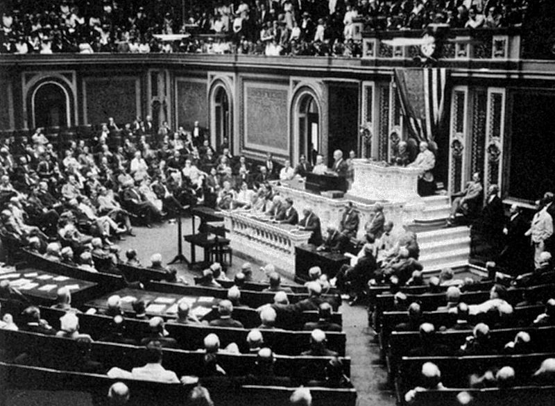 April 6 – The United States declares war on Germany.