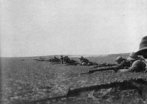 January 9 – At the Battle of Rafa the last substantial Ottoman Army garrison on the Sinai Peninsula is captured by the Egyptian Expeditionary Force