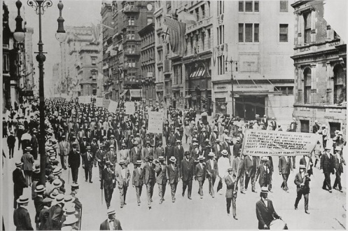 July 28 – The Silent Parade is organized by the NAACP in New York City, to protest the East St. Louis riot of July 2, as well as lynchings in Tennessee and Texas