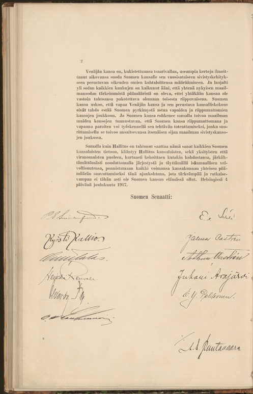 November 15 - The Parliament of Finland passes another 'Sovereignty Act', dissolving Russian sovereignty over Finland and effectively declaring Finland independent.