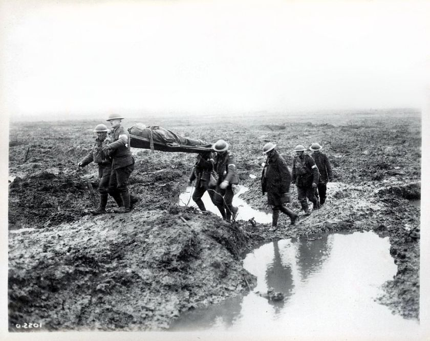 November 6 – Second Battle of Passchendaele - After 3 months of fierce fighting, Canadian forces take Passchendaele in Belgium. The battle concludes on November 10