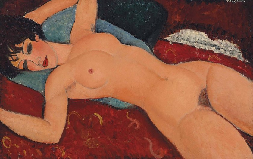 Amedeo Modigliani - Nu couché