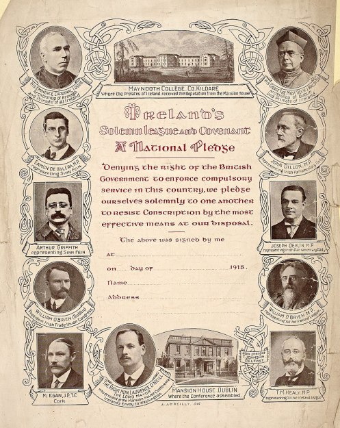 April 23 – A general strike is held in Ireland against conscription