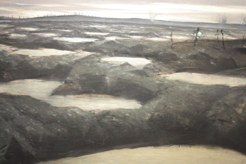 C. R. W. Nevinson - After A Push