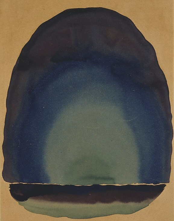 Georgia O'Keeffe – Light Coming on the Plains No. III