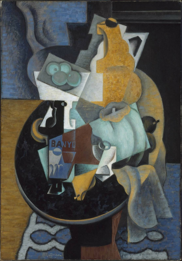 Jean Metzinger - Fruit and a Jug on a Table