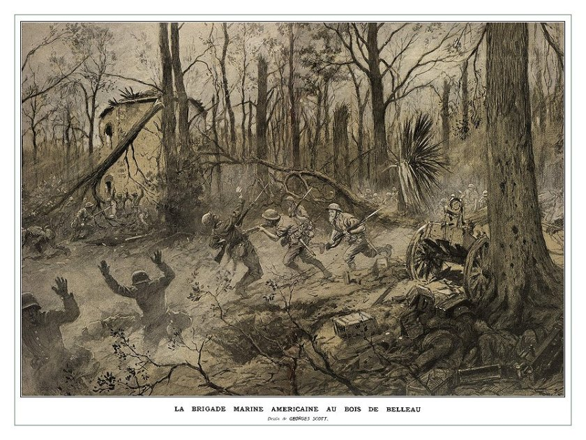 June 1 – The Battle of Belleau Wood begins.