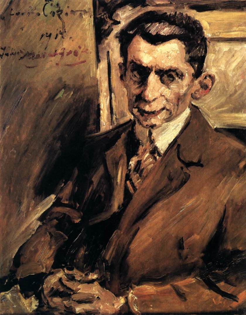 Lovis Corinth – Portrait of Julius Meier-Graefe