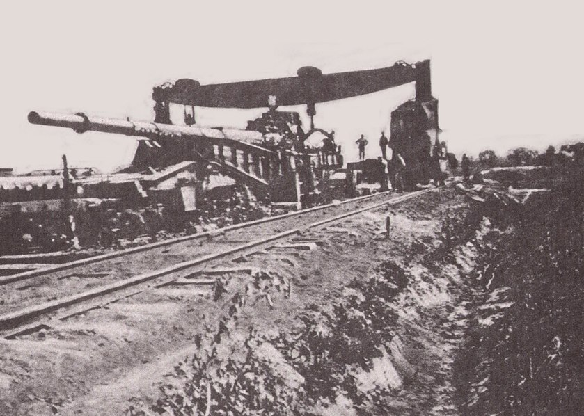 March 23 - The giant German cannon, the 'Paris Gun', begins to shell Paris from 114 km away