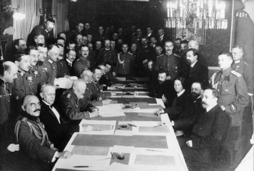 March 3 – The Central Powers and Russia sign the Treaty of Brest-Litovsk, ending Russia's involvement in WW1