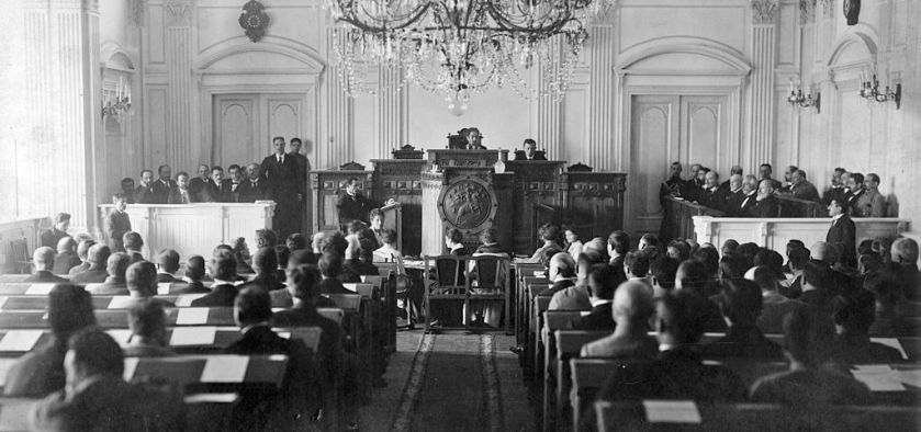 May 26 – Georgia declares its independence as the Democratic Republic of Georgia.