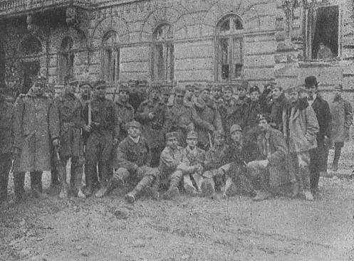 November 1 - The Polish–Ukrainian War is inaugurated, by the proclamation of the West Ukrainian People's Republic in Galicia, with a capital at Lwów.