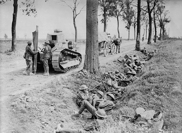 October 8–10 – British and Canadian troops take Cambrai from the Germans and the First and Third British Armies break through the Hindenburg Line
