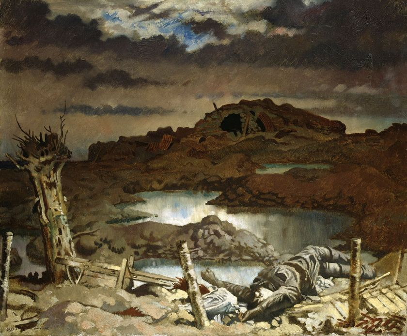 William Orpen - Zonnebeke