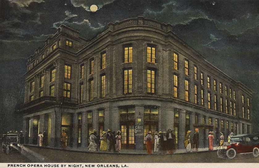 December 4 – The French Opera House in New Orleans, Louisiana is destroyed by fire.