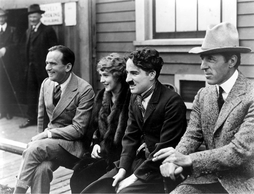 February 5 - United Artists (UA) is incorporated by D.W. Griffith, Charlie Chaplin, Mary Pickford and Douglas Fairbanks.