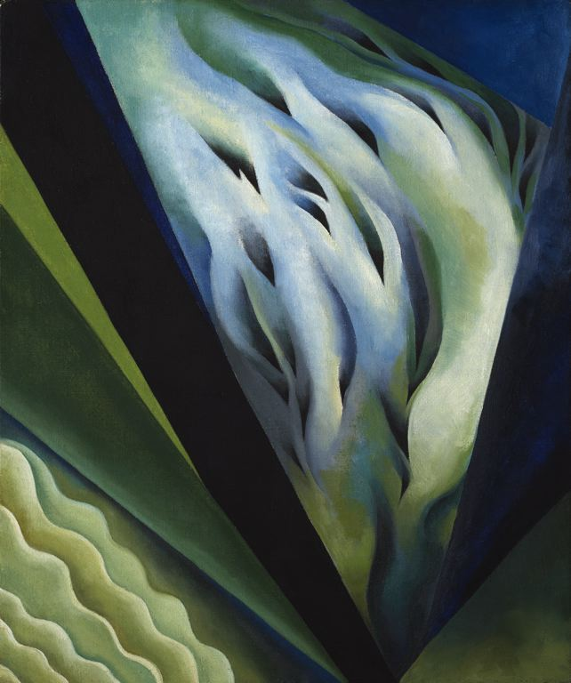 Georgia O'Keeffe - Blue and Green Music