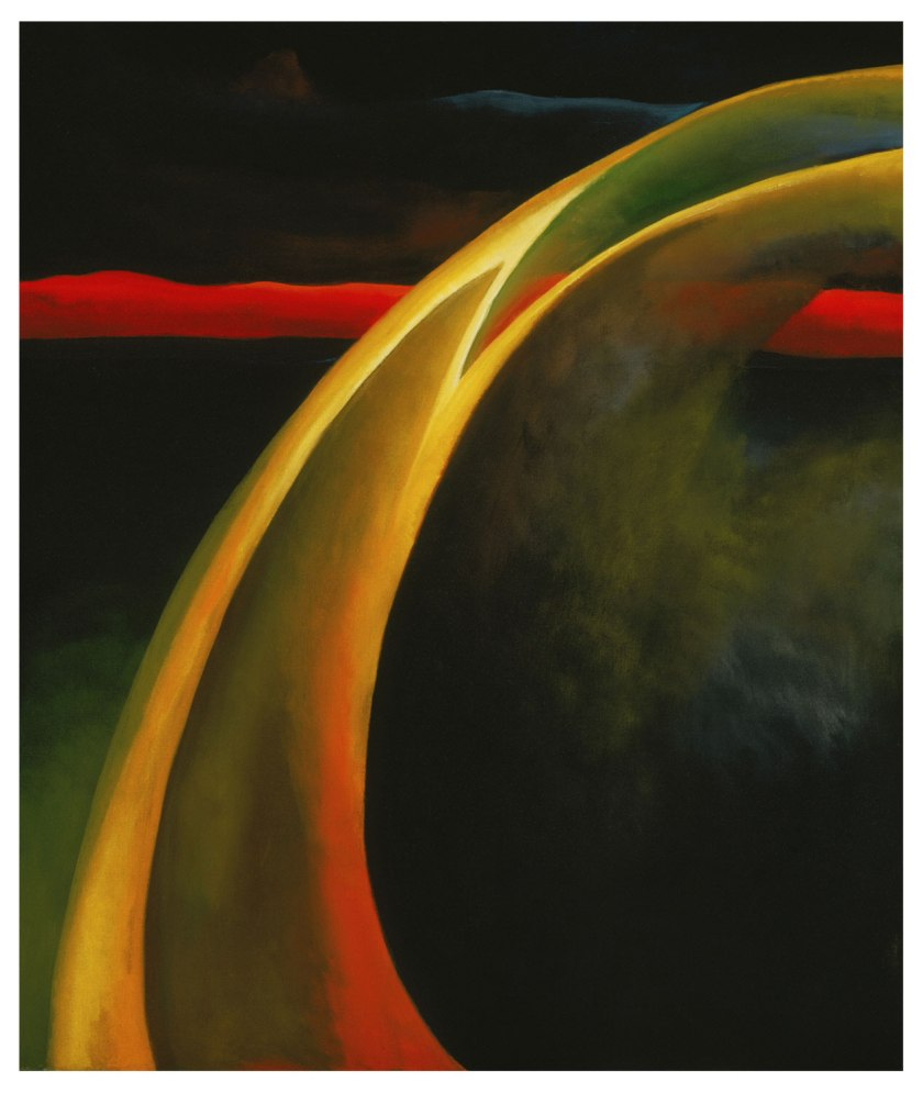 Georgia O'Keeffe - Red and Orange Streak