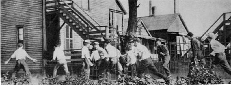 July 27 – The Chicago Race Riot of 1919 begins when a white man throws stones at a group of four black teens on a raft.