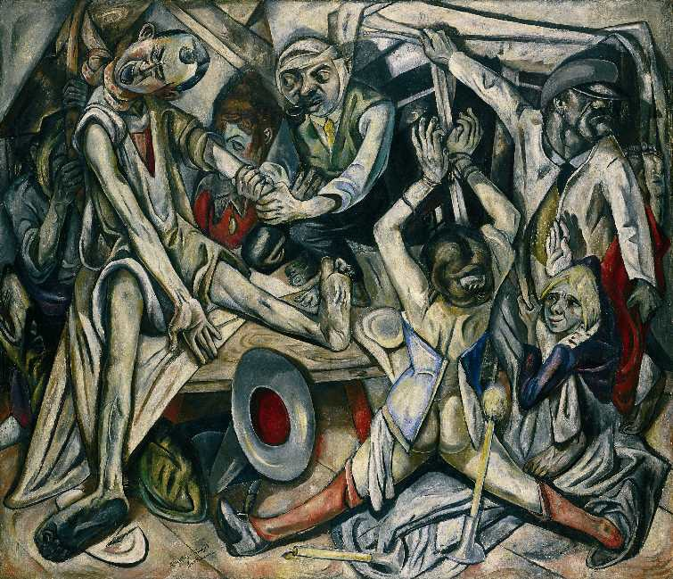 Max Beckmann – The Night