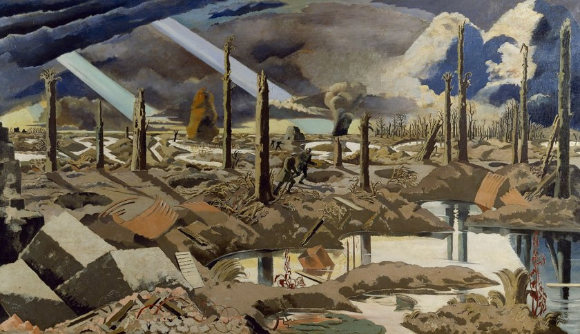 Paul Nash – The Menin Road.jpg